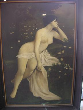 1890's Henry Carling 4' x 6' Oil Painting