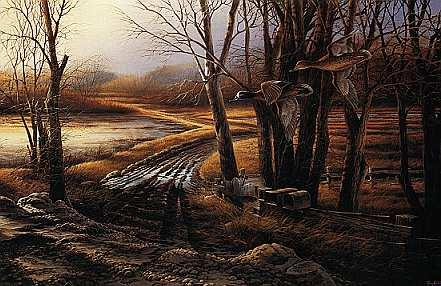 Click Here forTerry Redlin 1984 Artist Proof #8/96 Rural Route..