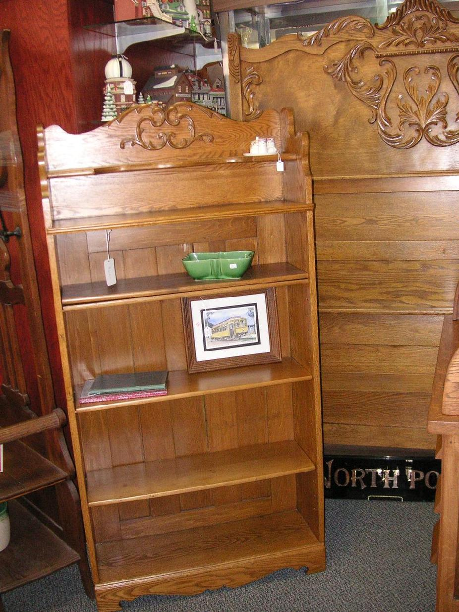 Bookcase - $275.00 & Bed Frame (Headboard & Foot Board) - $425.00